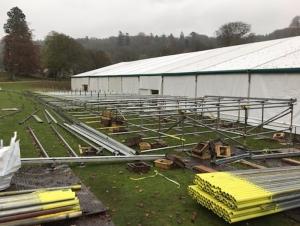 stonor park scaffolding